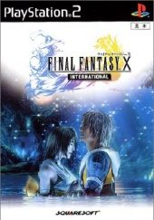 Box shot of Final Fantasy X International (Import) [Japan]
