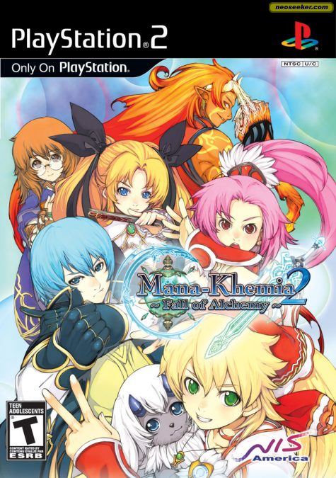 Mana Khemia 2: Fall of Alchemy - PS2 - NTSC-U (North America)