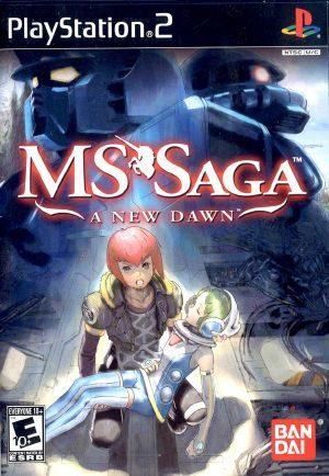 MS Saga: A New Dawn - PS2 - NTSC-U (North America)