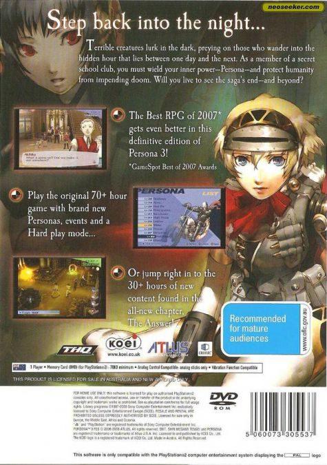 Shin Megami Tensei Persona 4