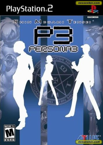 Persona 3 - PS2 - NTSC-U (North America)