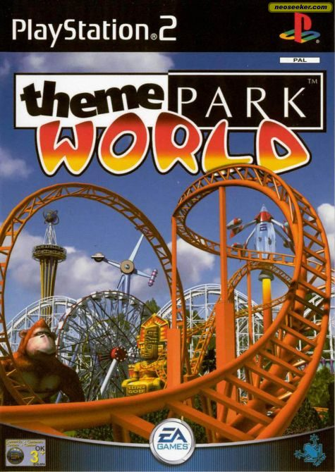 Theme Park World - PS2 - PAL (Europe)