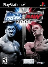 Box shot of WWE SmackDown! vs. RAW 2006 [North America]