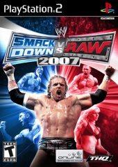 Box shot of WWE SmackDown vs. RAW 2007 [North America]