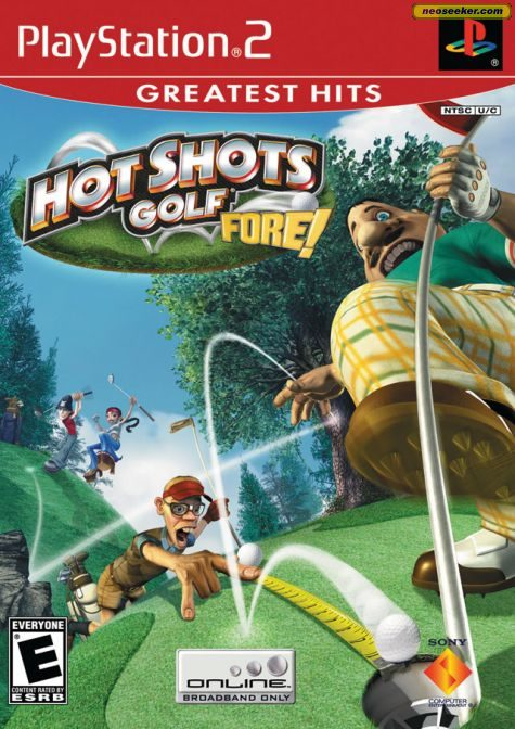 Hot Shots Golf Fore! - PS2 - NTSC-U (North America)
