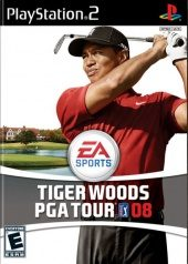 Box shot of Tiger Woods PGA Tour 08 [North America]