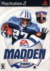 Box shot of Madden NFL 2001 [North America]