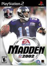 Box shot of Madden NFL 2002 [North America]
