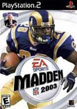 Box shot of Madden NFL 2003 [North America]