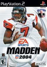Box shot of Madden NFL 2004 [North America]