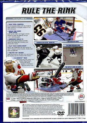 NHL 2003 - Back coverNhl 2003 Cover