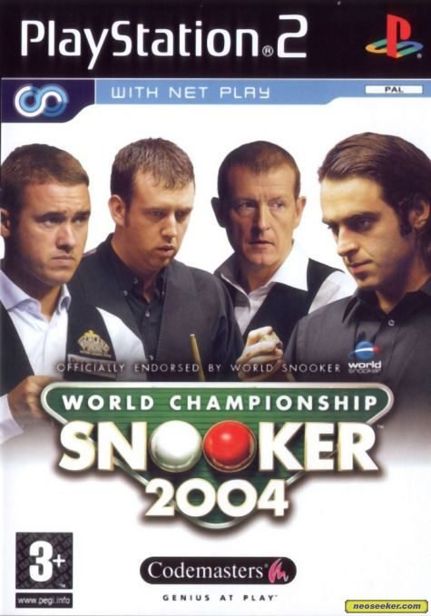 World Championship Snooker 2004 - PS2 - PAL (Europe)