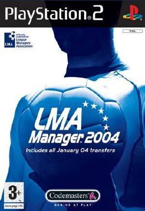 LMA Manager 2004 - PS2 - PAL (Europe)