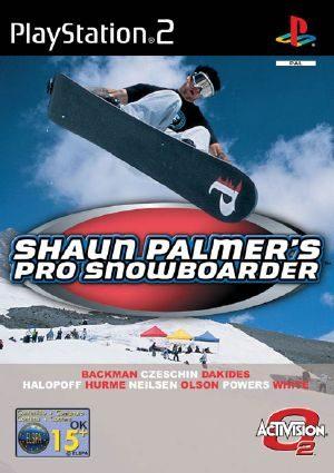 Shaun Palmer's Pro Snowboarder - PS2 - PAL (Europe)