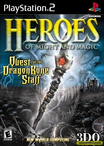 Heroes of Might and Magic: Quest for the Dragonbone Staff - PS2 - NTSC-U (North America)