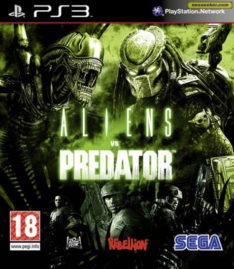 Aliens vs. Predator - PS3 - PAL (Europe)