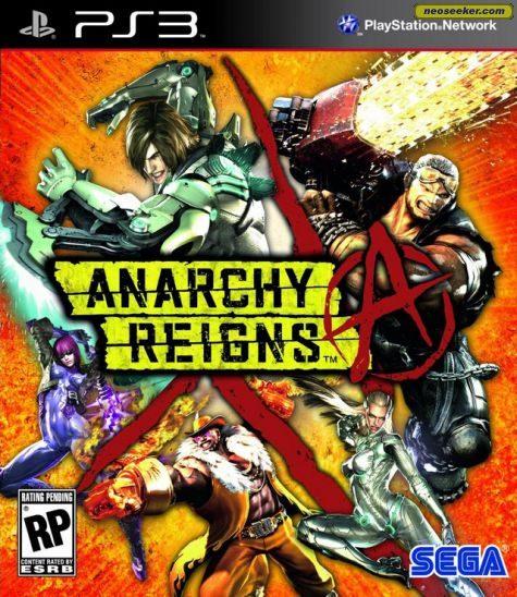 Anarchy Reigns - PS3 - NTSC-U (North America)