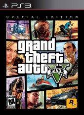 Box shot of Grand Theft Auto V [North America]