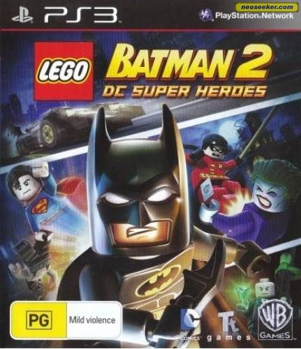 Lego Batman 2: DC Super Heroes - PS3 - PAL (Australia)