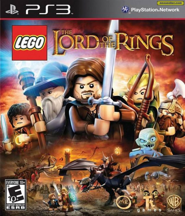 LEGO The Lord of the Rings - PS3 - NTSC-U (North America)