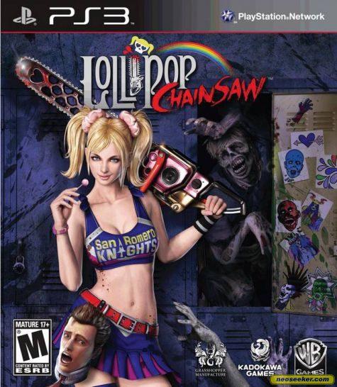 Lollipop Chainsaw - PS3 - NTSC-U (North America)