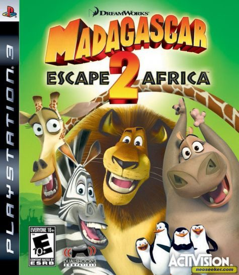Madagascar: Escape 2 Africa - PS3 - NTSC-U (North America)