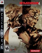 Box shot of Metal Gear Solid 4: Guns of the Patriots [North America]