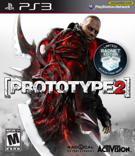 Prototype 2 - PS3 - NTSC-U (North America)