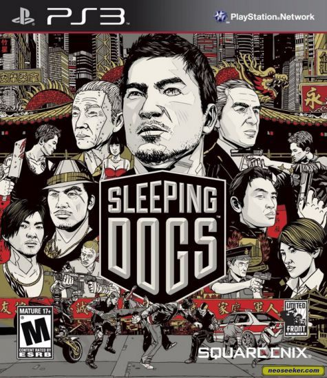 Sleeping Dogs - PS3 - NTSC-U (North America)