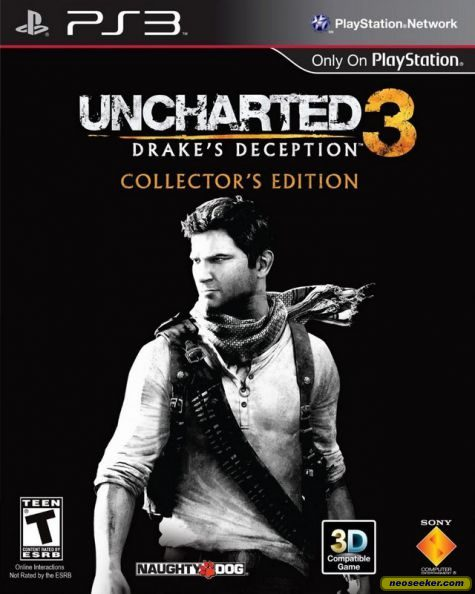 Uncharted 3 Drake S Deception Ps3 Front Cover