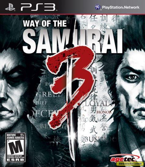 Way of the Samurai 3 - PS3 - NTSC-U (North America)