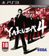 Yakuza 4 (Europe Boxshot)