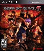 Dead or Alive 5 (North America Boxshot)