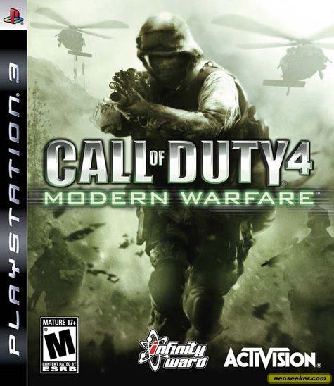 Call of Duty 4: Modern Warfare - PS3 - NTSC-U (North America)