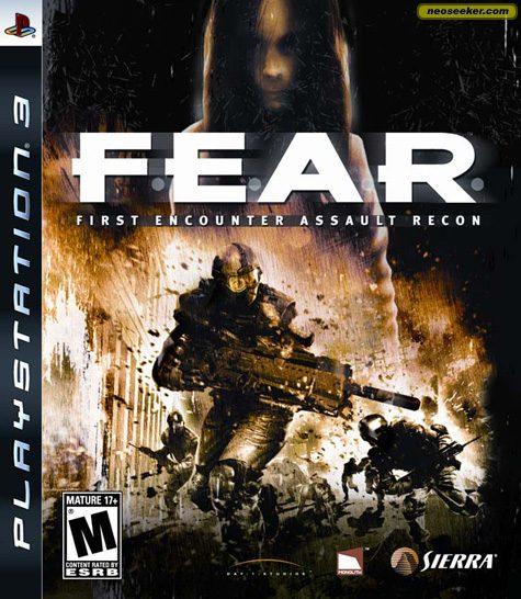 F.E.A.R. - PS3 - NTSC-U (North America)