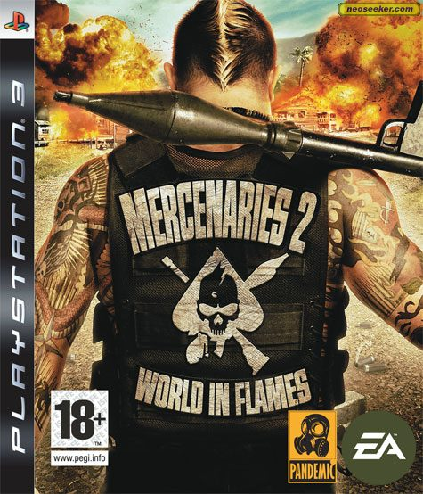 Mercenaries 2: World in Flames - PS3 - PAL (Europe)
