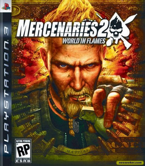 Mercenaries 2: World in Flames - PS3 - NTSC-U (North America)