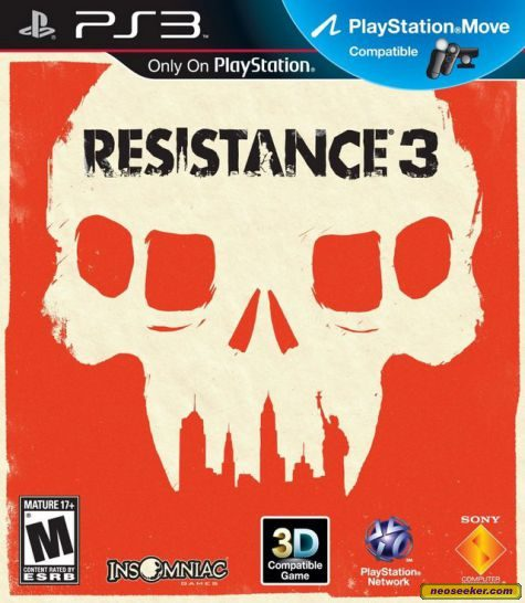 Resistance 3 - PS3 - NTSC-U (North America)