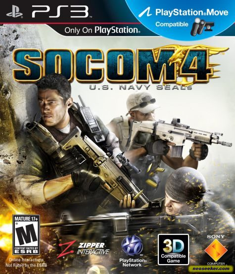 SOCOM 4: U.S. Navy SEALs - PS3 - NTSC-U (North America)