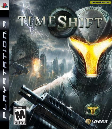 TimeShift - PS3 - NTSC-U (North America)