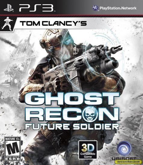 Tom Clancy's Ghost Recon: Future Soldier - PS3 - NTSC-U (North America)