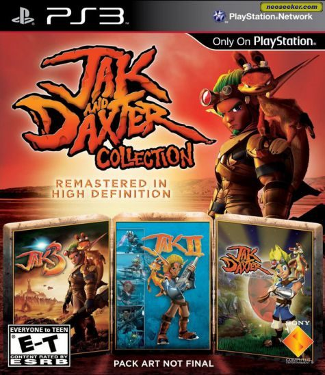 Jak and Daxter Collection - PS3 - NTSC-U (North America)