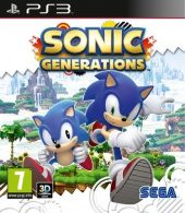 Sonic Generations PAL (Europe) front boxshot