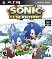 Box shot of Sonic Generations [North America]