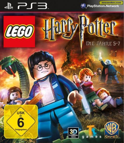 LEGO Harry Potter: Years 5-7 - PS3 - PAL (Europe)