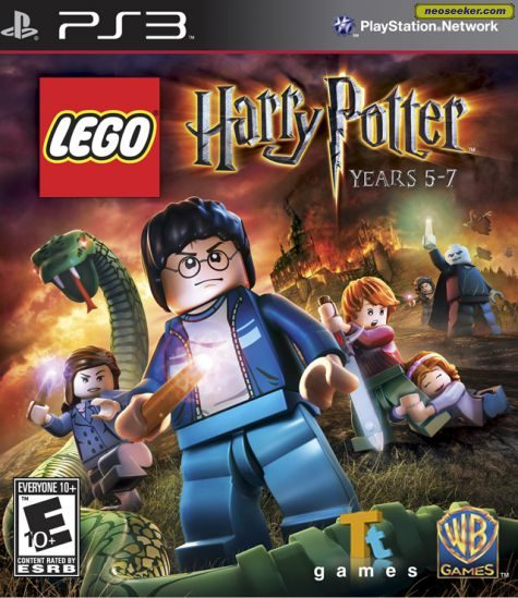 LEGO Harry Potter: Years 5-7 - PS3 - NTSC-U (North America)