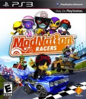 Box shot of ModNation Racers [North America]