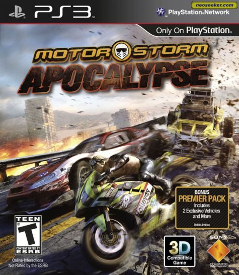 MotorStorm Apocalypse - PS3 - NTSC-U (North America)