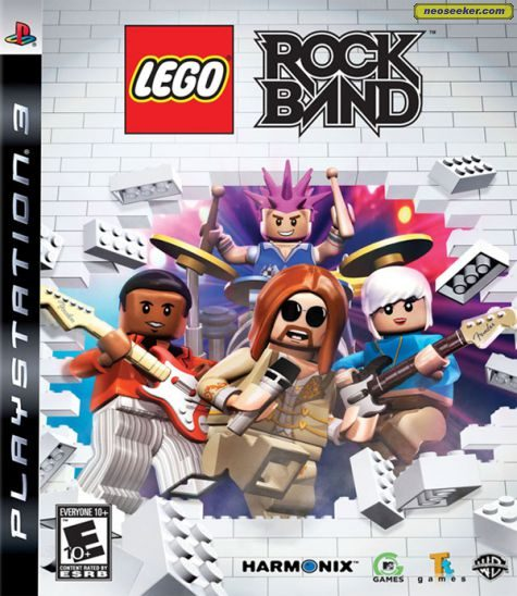 Lego Rock Band - PS3 - NTSC-U (North America)