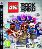 Lego Rock Band PAL (Europe) front boxshot